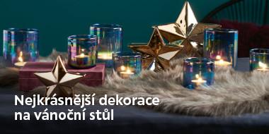 Nejkrášnější dekorace na stůl