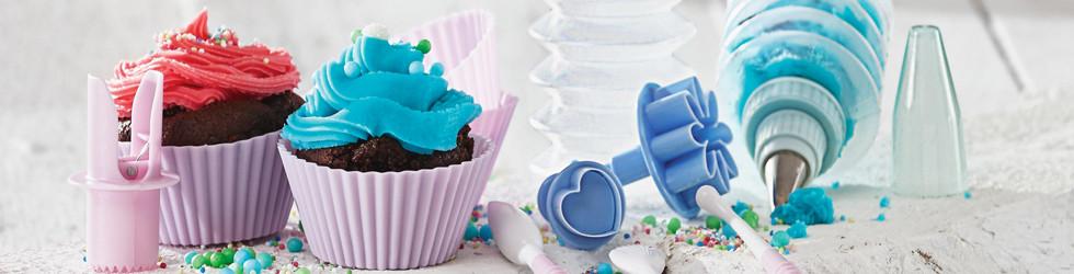 Mit dem 13-teiligen Cupcake-Backset von XXXLutz sind Sie für jede kreative Backidee gerüstet.