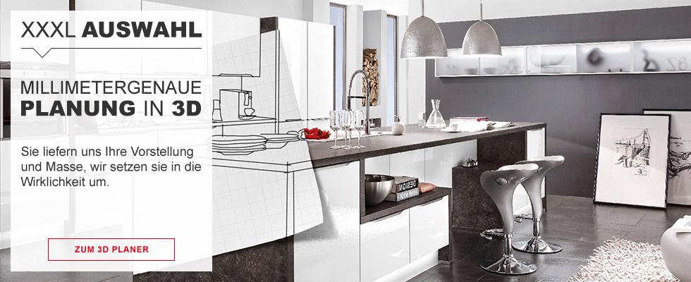 XXXLutz Küchenplaner - in wenigen Schritten zu Ihrer Traumküche