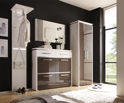 Moderano perfekte Grundlage Garderobe Eingangsbereich gestalten