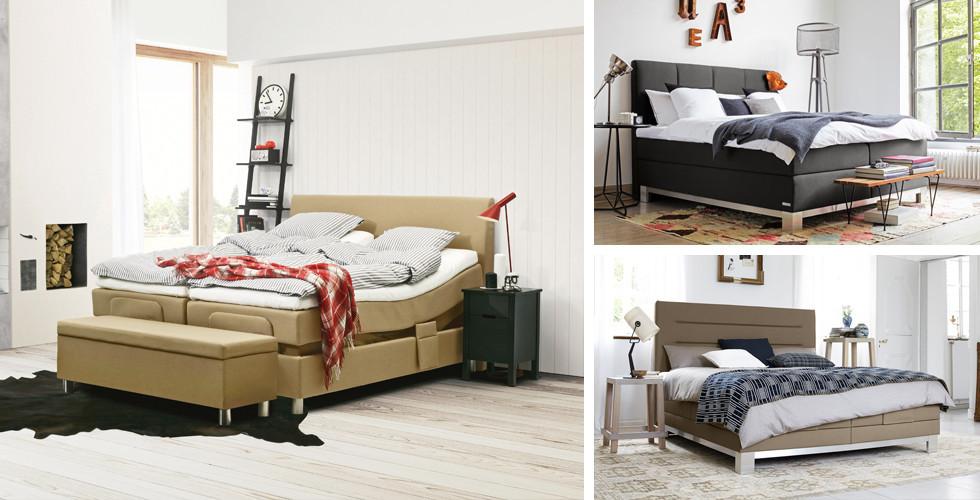 Kontinentální postele skandinávského stylu v XXXLutz.