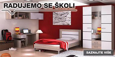 Praktična soba za mlade Lesnina XXXL