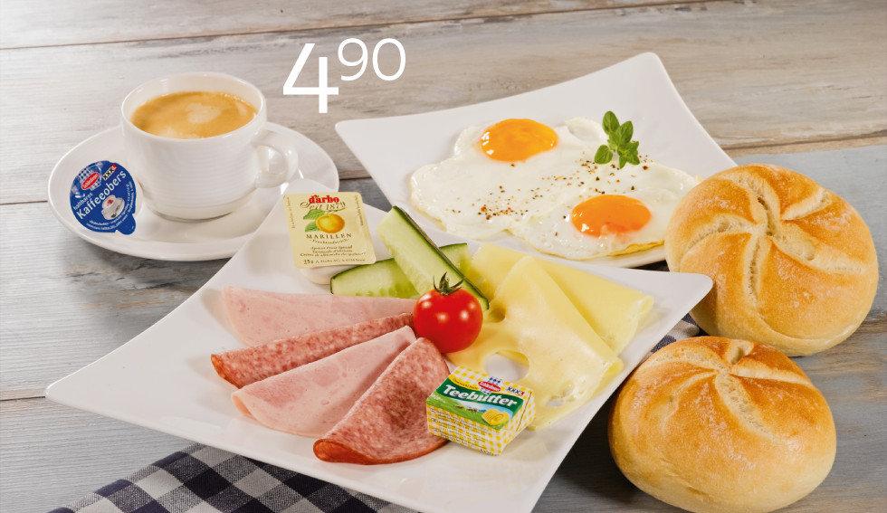 XXXLutz Frühstück
