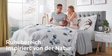 Ruhebereich inspiriert von der Natur