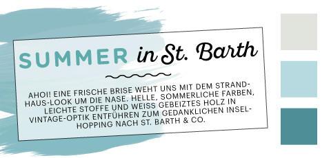 Farbfelder St. Barth