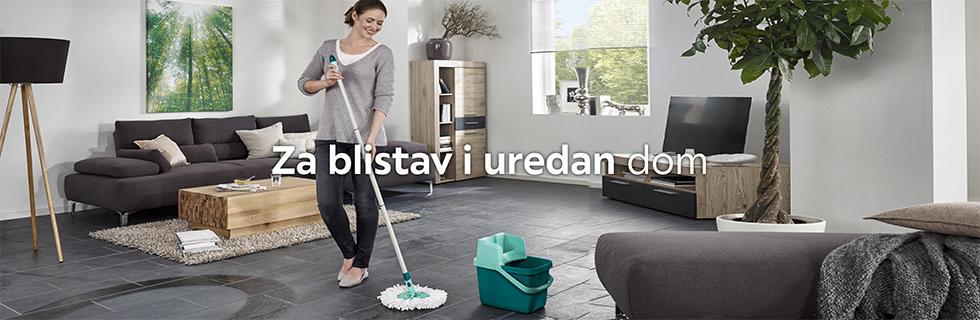 Kvalitetan set za čišćenje poda Lesnina XXXL
