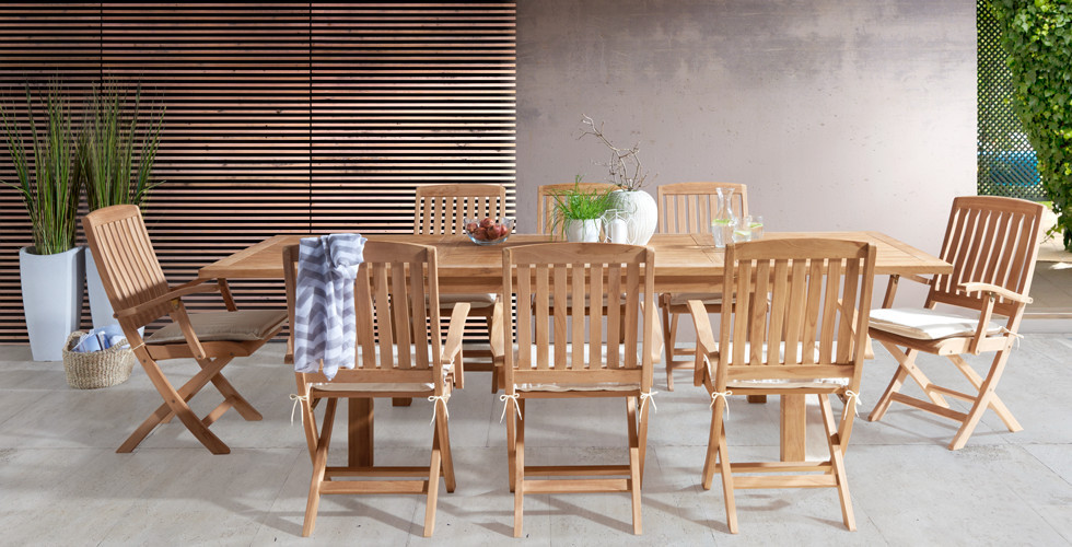 Tisch-Sessel-Set-Outdoor