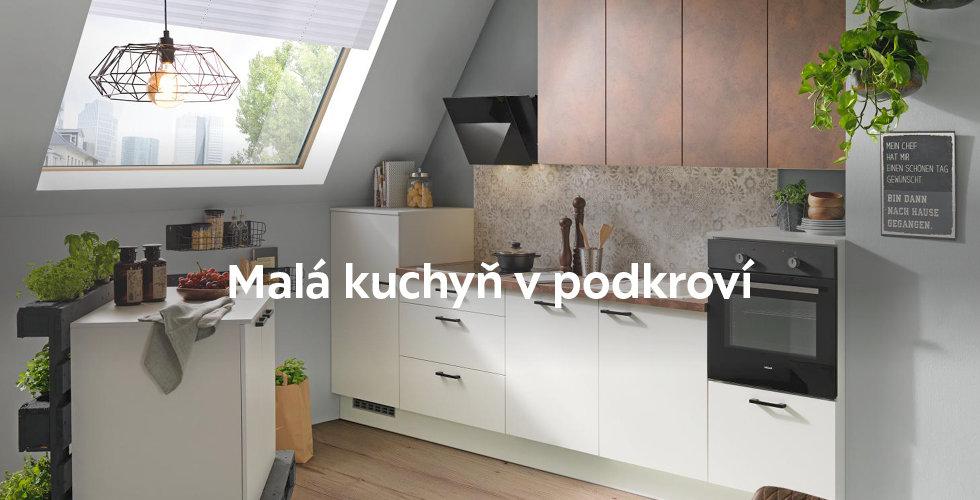 Kuchyň do podkroví