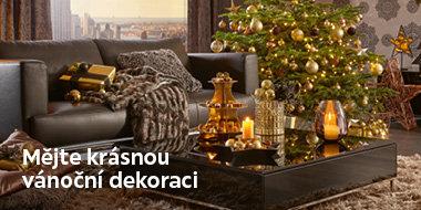 Krásné vánoční dekorace