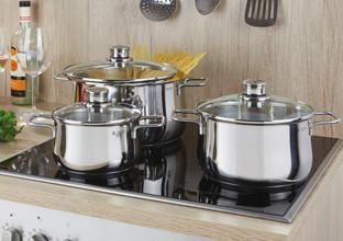 Diese Töpfe und Pfannen sind für Ihr Kochfeld geeignet