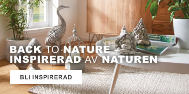 Back to nature-insprirerad av naturen