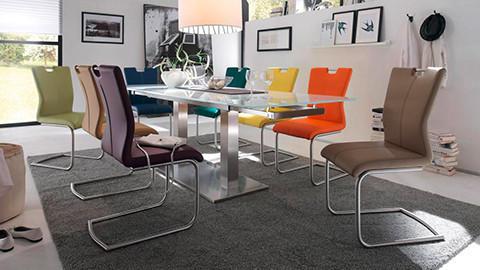 Esszimmerstühle bunt  Stühle & Esszimmerstühle | Schwingstühle & Freischwinger