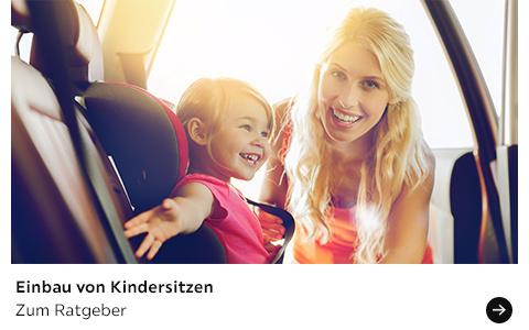 Babyratgeber Einbau von Kindersitzen