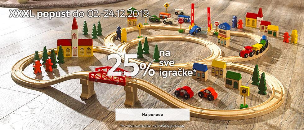 25% popust igračke