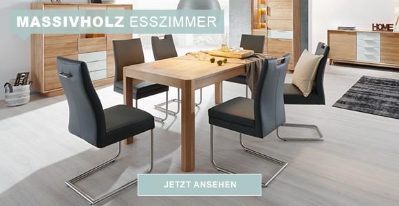 Massivholz-Esszimmer online kaufen