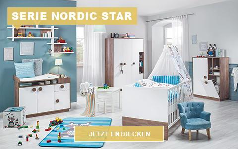Babyzimmerserie Nordic Star
