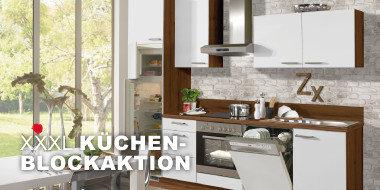 XXXL Küchenblockaktion
