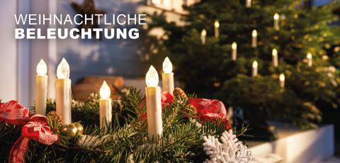Weihnachtlige Beleuchtung