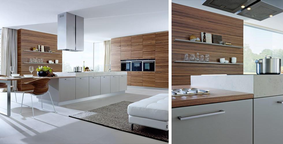 Designerkueche modernholz
