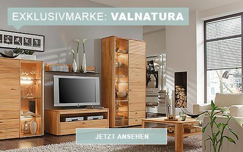 Wohnzimmerlandschaft aus Massivholz von Valnatura