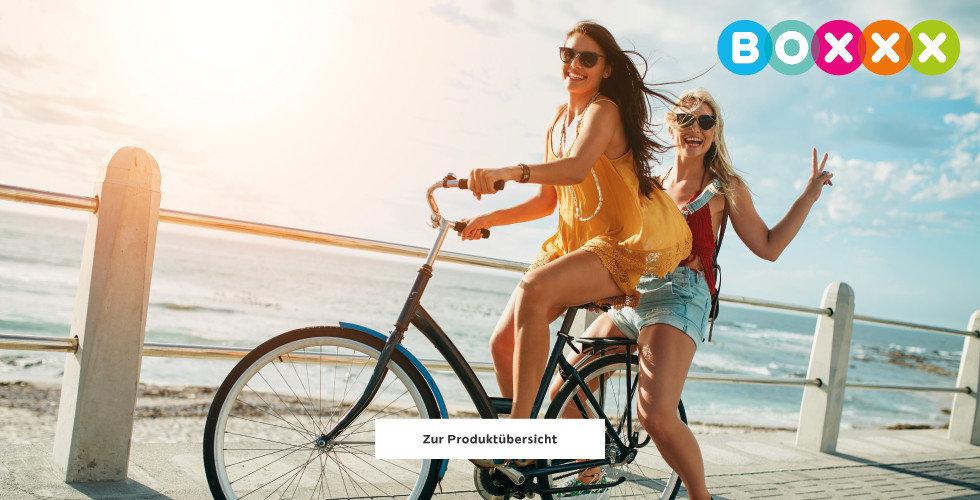 Boxxx Einrichtung Dekoration Fahrrad Meer Urlaub