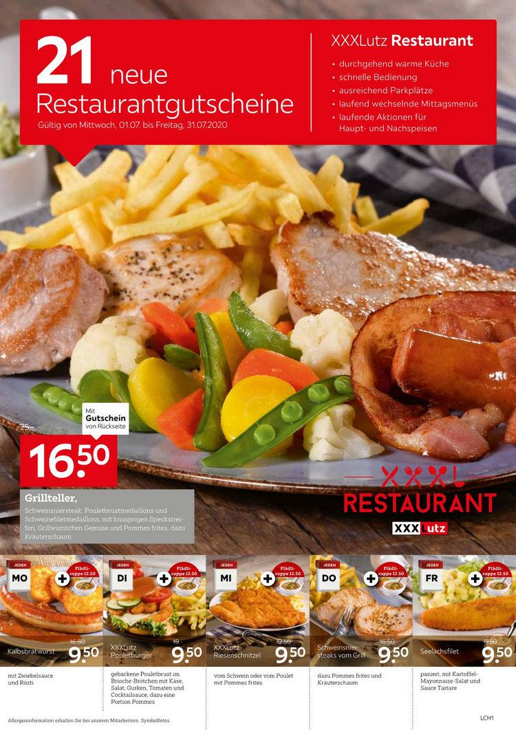 21 neue Restaurantgutscheine