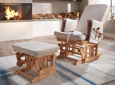 Moderna, elegantna i kvalitetna stolica za dojenje Lesnina XXXL