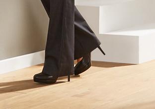 Vinylboden-Schuhe