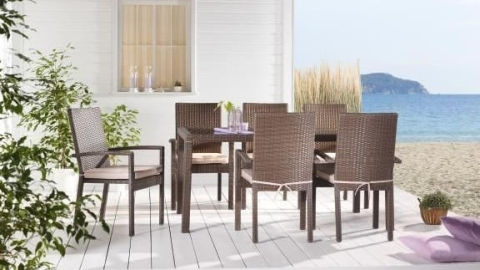 pletene pvc vrtne stolice