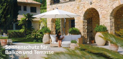 Sonnenschutz für Balkon und Terrasse