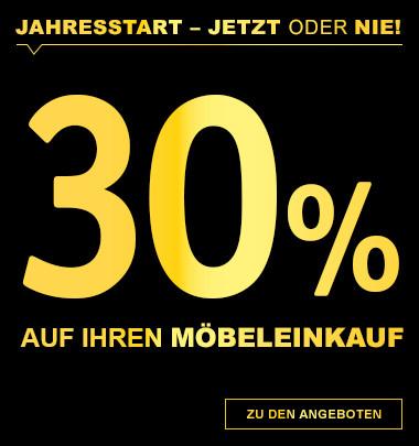 30% auf ihren Möbeleinkauf