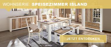 Wohnserie: Speisezimmer Island