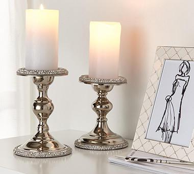 Kerzen als Deko für eine gemütliche Stimmung