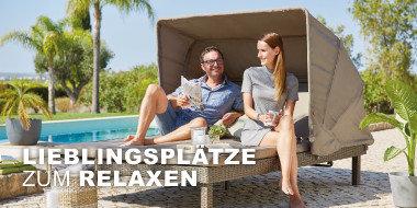 Lieblingsplätze  zum Relaxen
