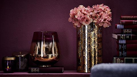 Vase Windlicht Glam Chic