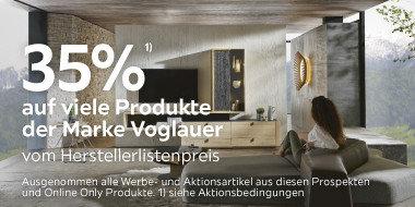 35% auf viele Produkte der  Marke Voglauer