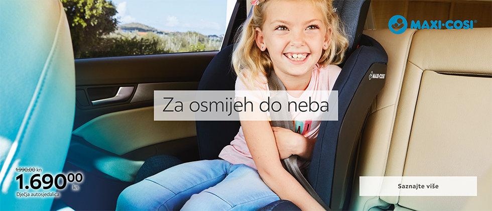 Moderna dječja autosjedalica Lesnina XXXL