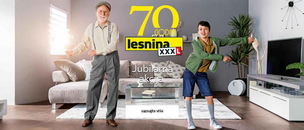 Lesnina XXXL jubilarna akcija do 70%