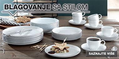 Elegantan servis za jelo XXXL Lesnina