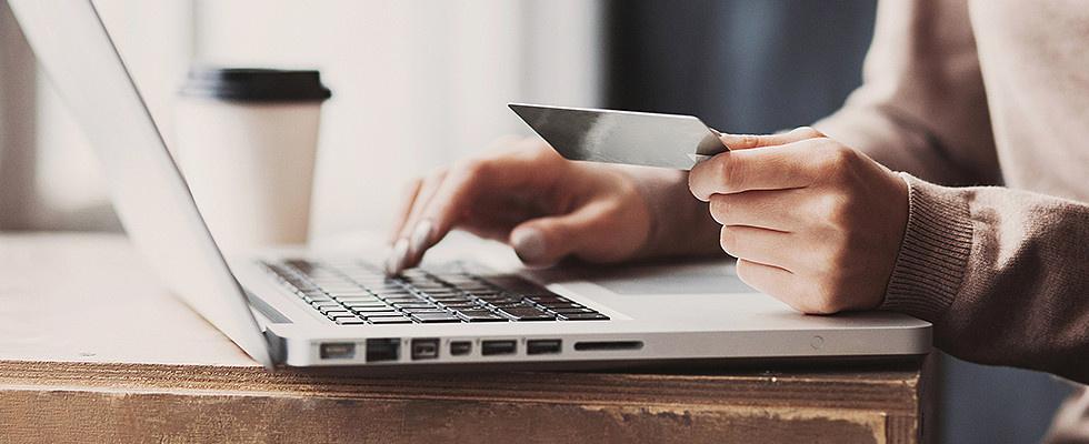Online Versand Zahlung