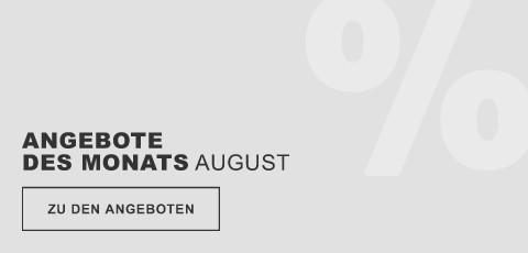Angebote des Monats August