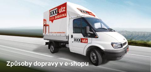 Způsoby dopravy v e-shopu