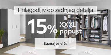15% popusta na Unit ormare Lesnina XXXL