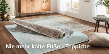 Nie mehr kalte Füße - Teppiche