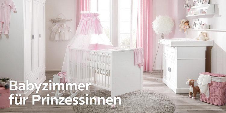 Babyzimmer für Prinzessinnen