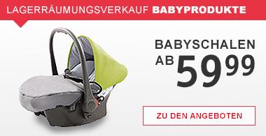 Lagerräumungsverkauf Babyprodukte