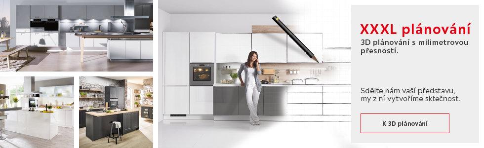 3D  plánování kuchyní