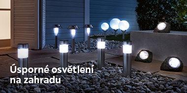 Úsporné venkovní osvětlení