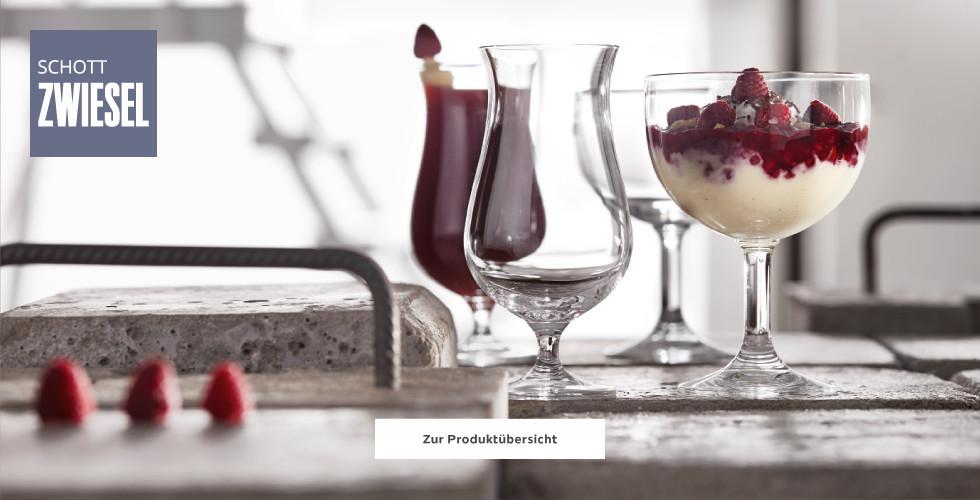 Schott Zwiesel Gläserauswahl