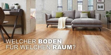 Welcher Boden für welchen Raum?